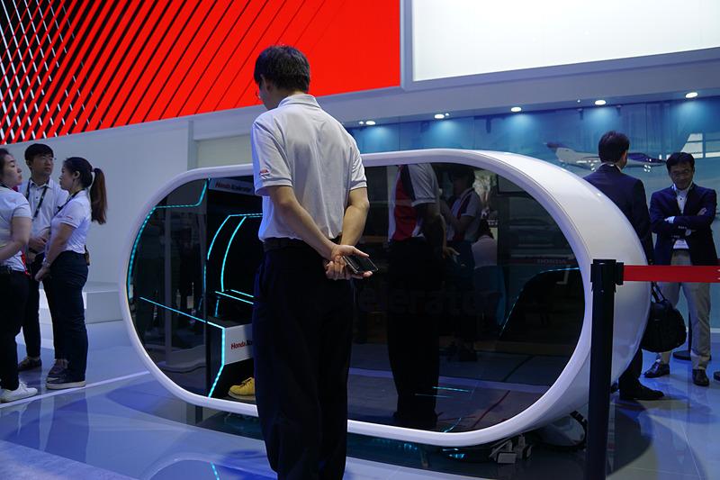 オープンイノベーションプロジェクト「Honda Xcelerator」の展示