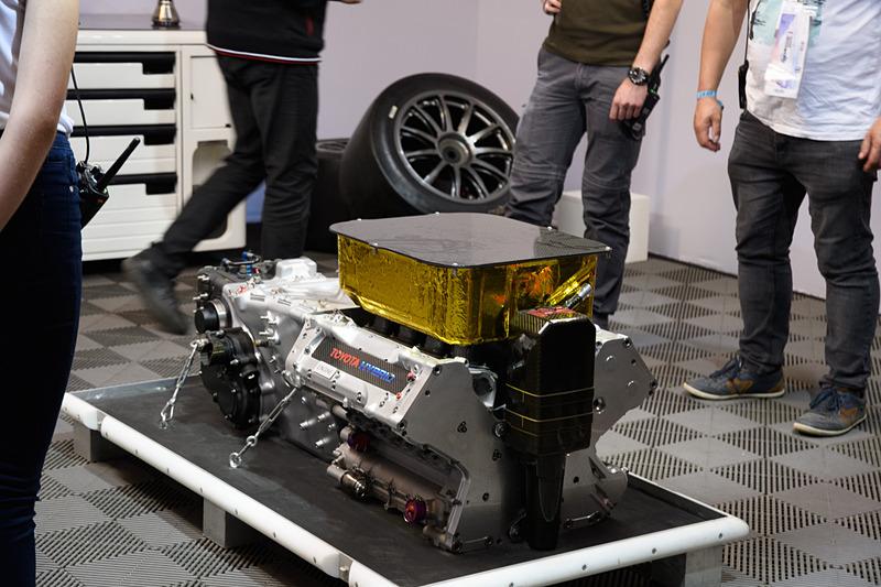 TS050のエンジン説明コーナー