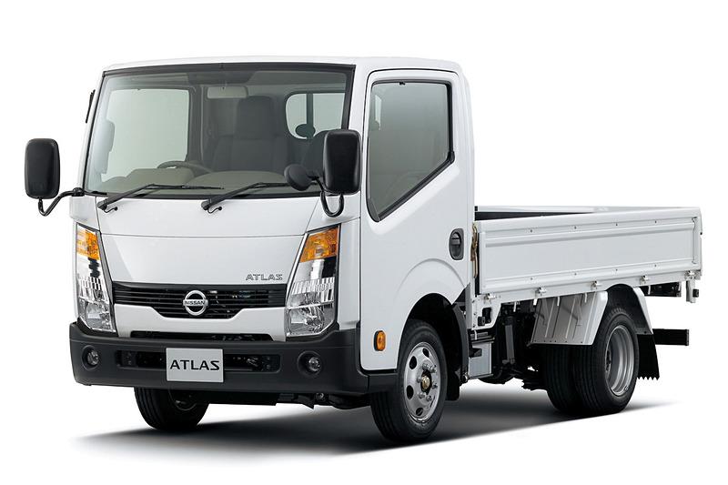 アトラスのガソリンエンジン車(1.15t~1.5t)は継続販売