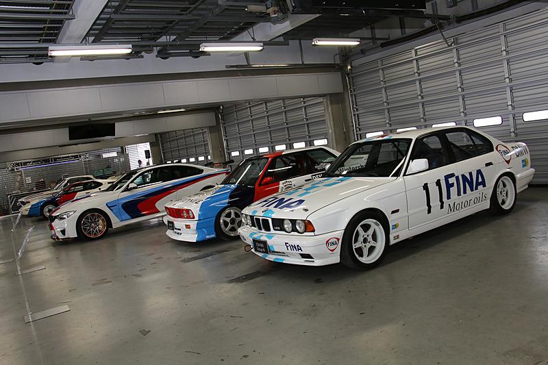 「BMW CLUB JAPAN」の協力で行なわれた「M HISTORIC COLLECTION.」