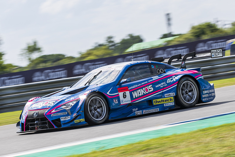 GT500のポールポジションを獲得したのは6号車 WAKO'S 4CR LC500(大嶋和也/山下健太組、BS)