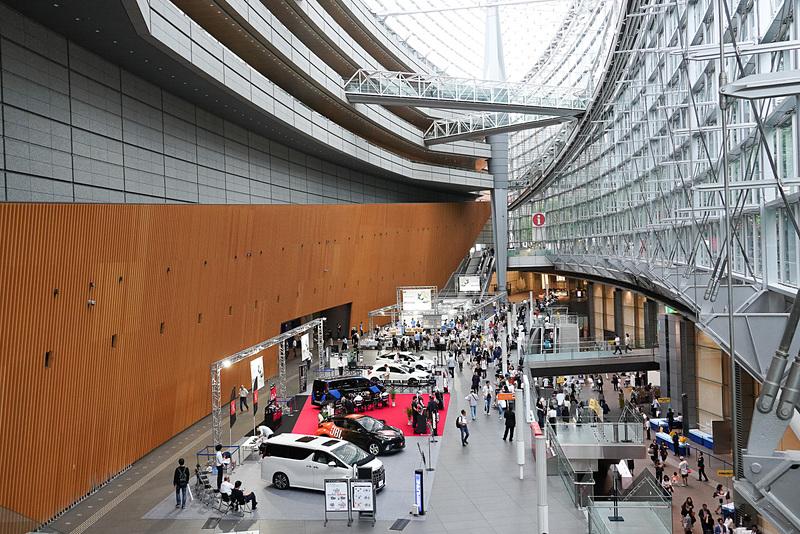 会場の東京国際フォーラム