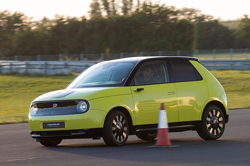 新型EV「Honda e」プロトタイプ