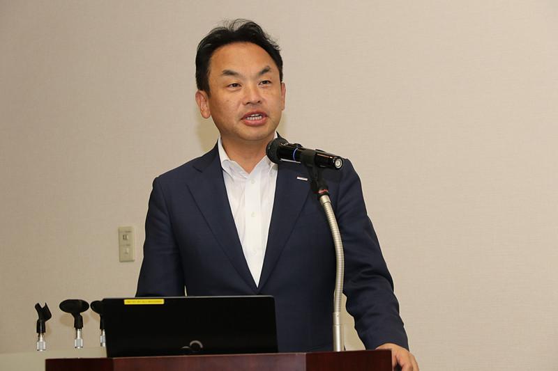 TOYO TIRE株式会社 執行役員 技術開発本部長 商品開発本部長の守屋学氏が解説