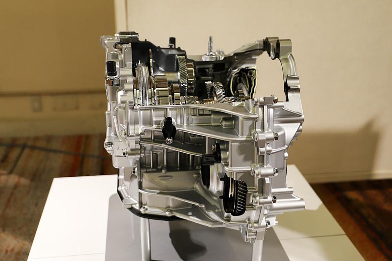 CVTのカットモデル