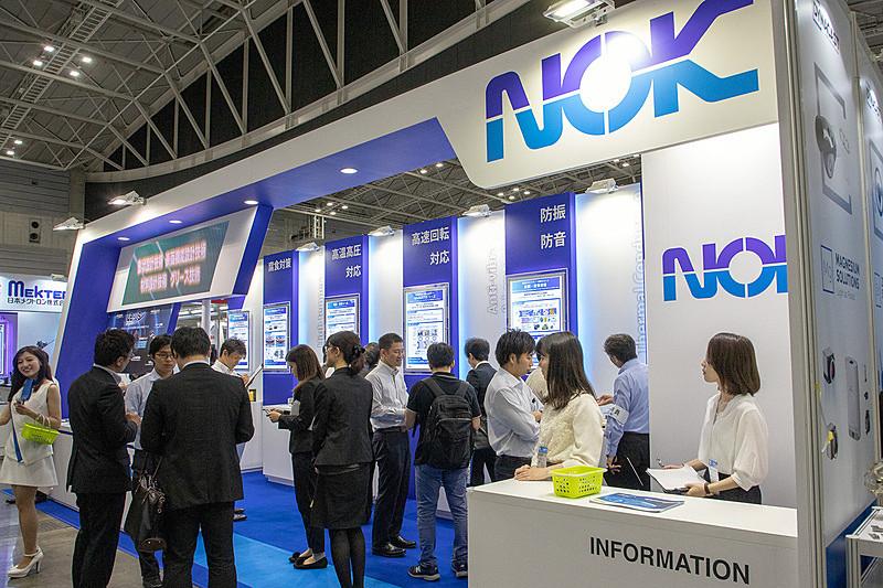 5月22日~24日に開催された「人とくるまのテクノロジー展2019 横浜」のNOKブース