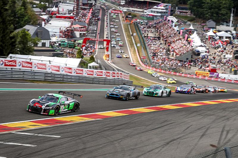 世界三大耐久レースのスパ24時間も含まれる