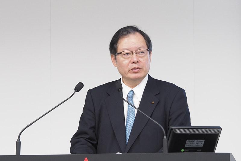 三菱自動車工業株式会社 代表執行役副社長(財務・経理担当)CFO 池谷光司氏