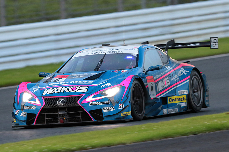 GT500クラスで優勝した6号車 WAKO'S 4CR LC500(大嶋和也/山下健太組、BS:ブリヂストン)