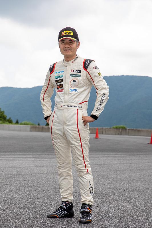 ゲストとして参加していたのは、コペンの開発者でもあるダイハツ工業の殿村裕一氏。コペンでジムカーナ競技に参戦し、2018年はATクラスでシリーズ2位。2019年もすでに2度の優勝をしている
