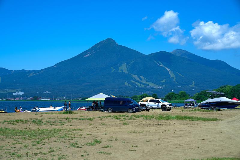 天神浜オートキャンプ場(福島県耶麻郡)