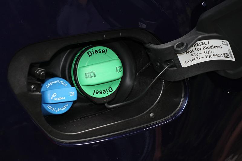 排出ガスの後処理に尿素水溶液「AdBlue」を使用する