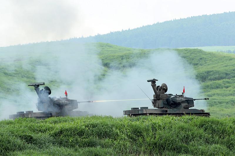 87式自走高射機関砲
