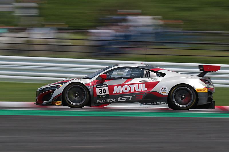 30号車 Honda NSX GT3 Evo(Honda Team Motul、マルコ・ボナノミ/武藤英紀/ベルトラン・バゲット組)