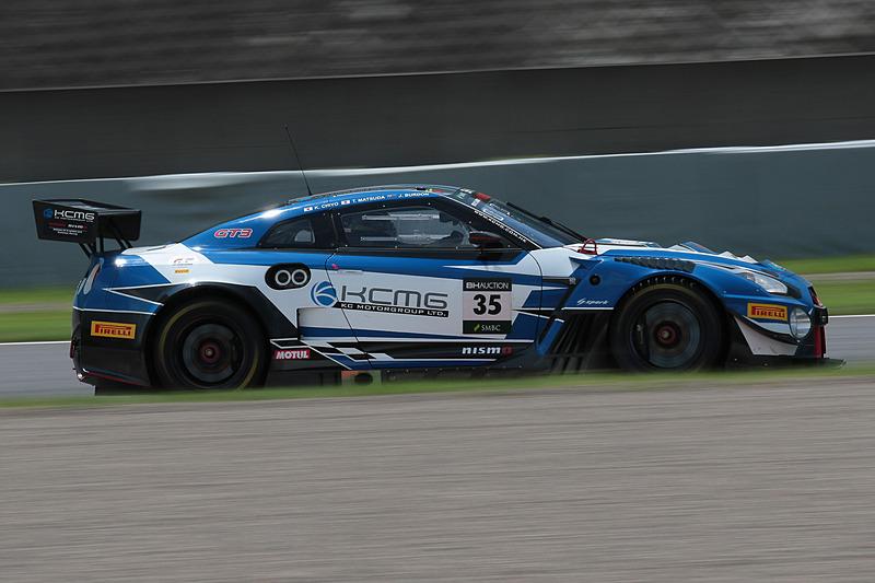 35号車 NISSAN GT-R NISMO GT3(KCMG、千代勝正/ジョシュア・バードン/松田次生組)