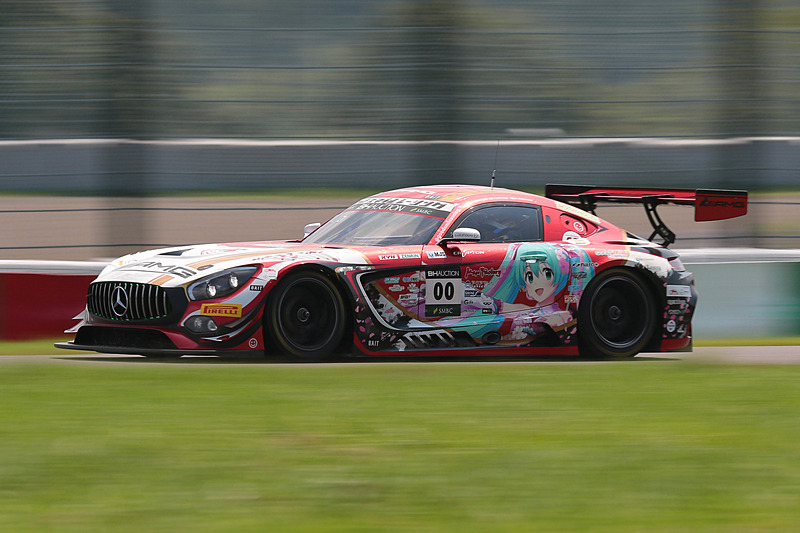 00号車 Mercedes-AMG GT3(Mercedes-AMG Team Goodsmile、谷口信輝/片岡龍也/小林可夢偉組)