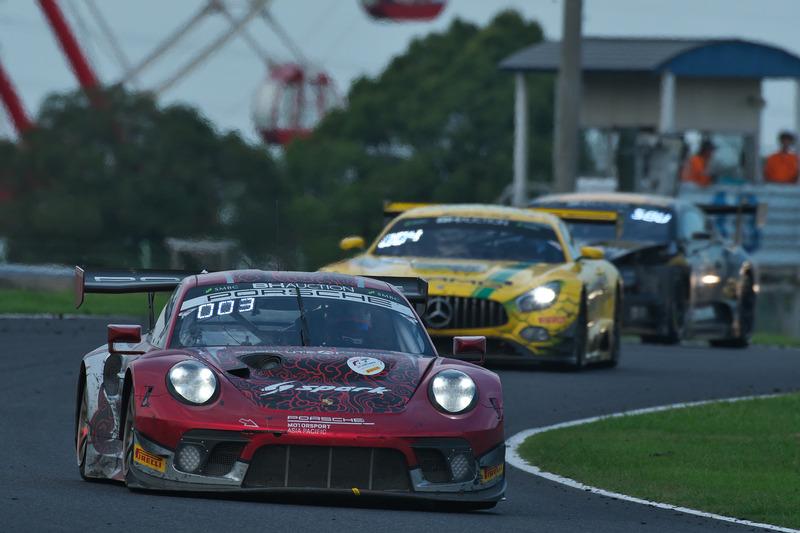 3位の912号車 Porsche 911 GT3 R(Absolute Racing、デニス・オルセン/マット・キャンベル/ダーク・ヴェルナー組)