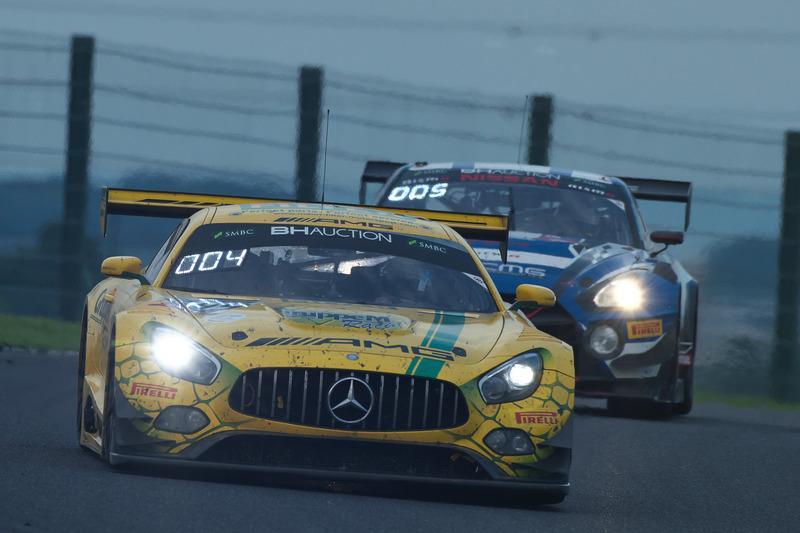 2位の999号車 Mercedes-AMG GT3(Mercedes-AMG Team GruppeM Racing、マロ・エンゲル/ラファエル・マルセロ/マキシミリアン・ブーク組)