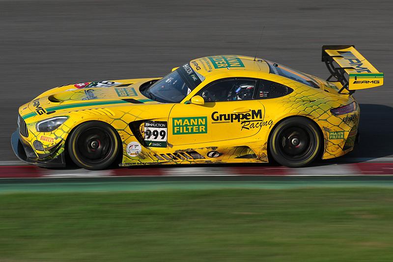 999号車 Mercedes-AMG GT3(Mercedes-AMG Team GruppeM Racing、マロ・エンゲル/ラファエル・マルセロ/マキシミリアン・ブーク組)