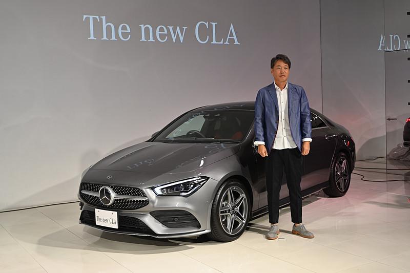 新型「CLA」の発表会が開催された