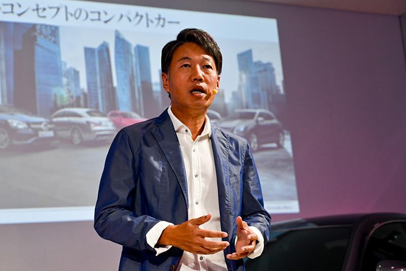 メルセデス・ベンツ日本株式会社 代表取締役社長兼CEO 上野金太郎氏