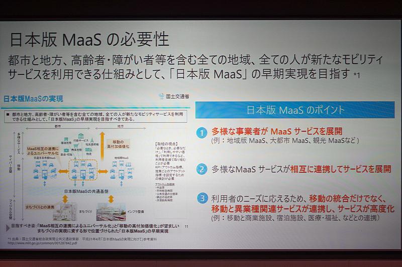 日本版MaaSの必要性