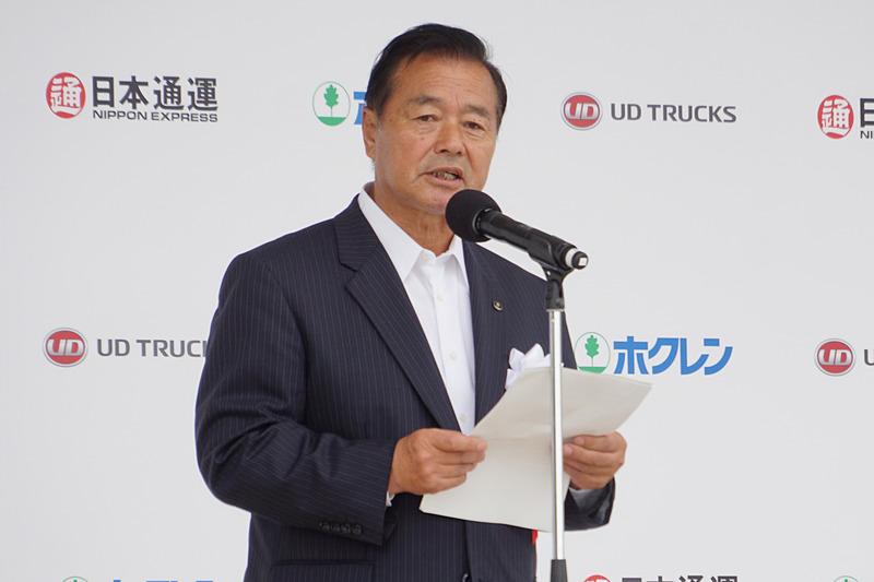 ホクレン 農業協同組合連合会 代表理事会長 内田和幸氏
