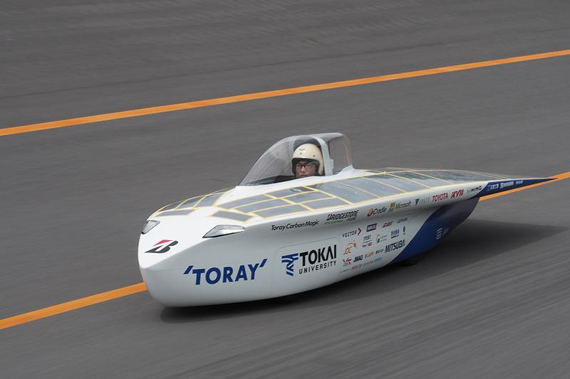 東海大学 チャレンジセンター・ライトパワープロジェクトの新型「Tokai challenger」
