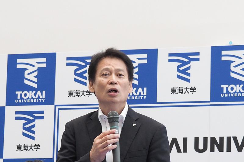 東海大学 副学長 梶井龍太郎氏