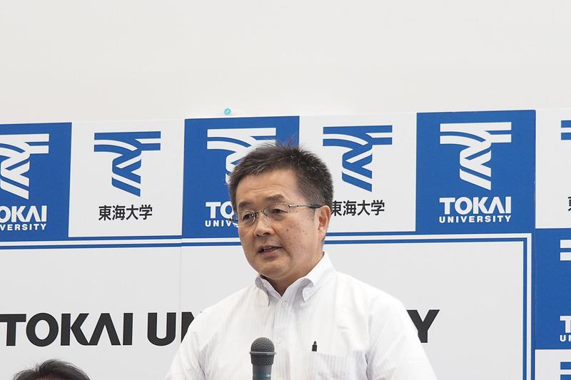 東レ・カーボンマジック株式会社 代表取締役社長 奥明栄氏