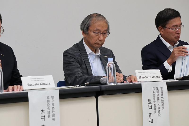 日産自動車株式会社 独立社外取締役 筆頭独立社外取締役 指名委員会委員長 豊田正和氏