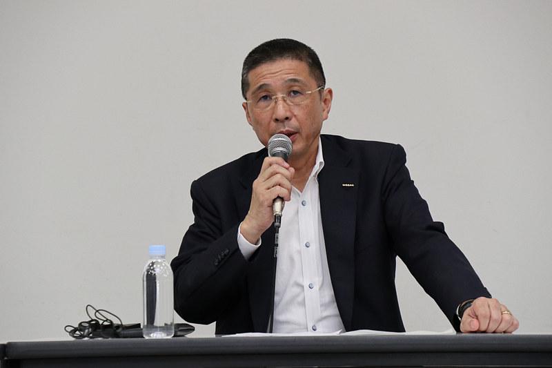 9月16日付けで辞任することとなった日産自動車株式会社 代表取締役社長 CEO 西川廣人氏
