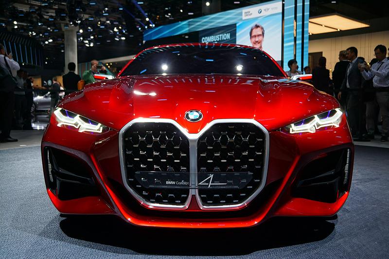 BMWがIAA2019で公開した2ドアクーペのコンセプトモデル「コンセプト4」