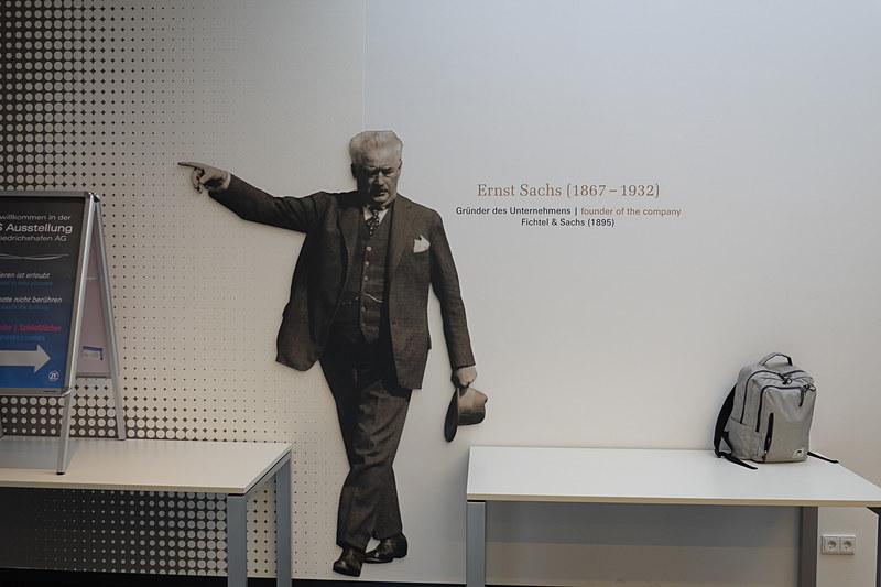 創業者の1人であるアーネスト・ザックス(1867-1932)