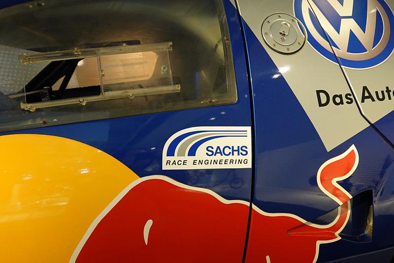フォルクスワーゲンのパリダカ車両も展示されていた