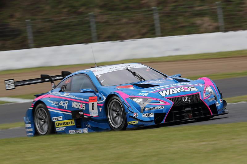 ランキングトップの6号車 WAKO'S 4CR LC500(大嶋和也/山下健太組、BS)は8位