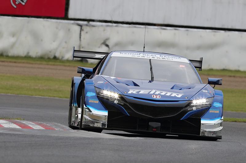 コースレコードでPPを獲得した17号車 KEIHIN NSX-GT(塚越広大/ベルトラン・バゲット組、BS)