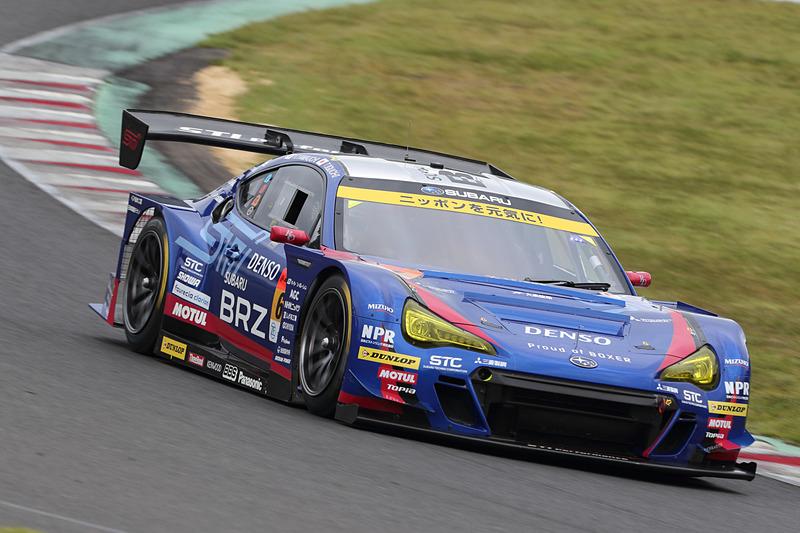 ポールポジションは61号車 SUBARU BRZ R&D SPORT(井口卓人/山内英輝組、DL)