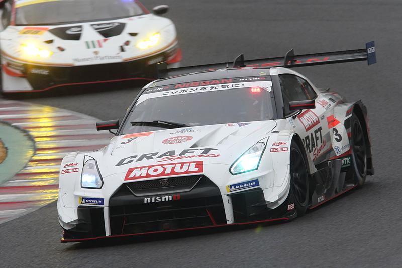 3号車 CRAFTSPORTS MOTUL GT-Rが優勝