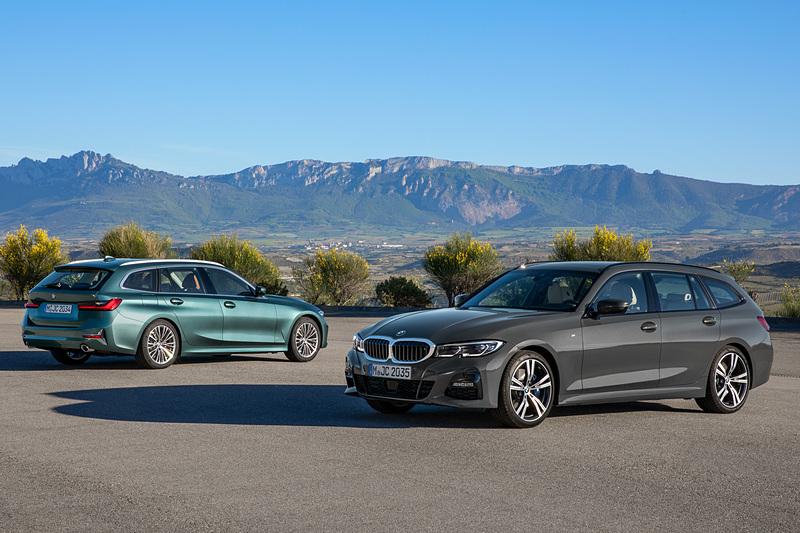 BMWの新型「3シリーズ ツーリング」デビュー