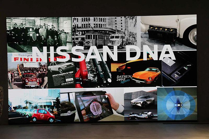 ヘリテージゾーンには高解像度の220インチLEDスクリーンを設置。貴重な歴史的動画コンテンツ、企画展示車の解説などを放映予定