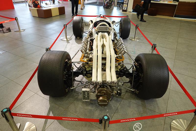 3.0リッターのF1マシンとして作られたRA273