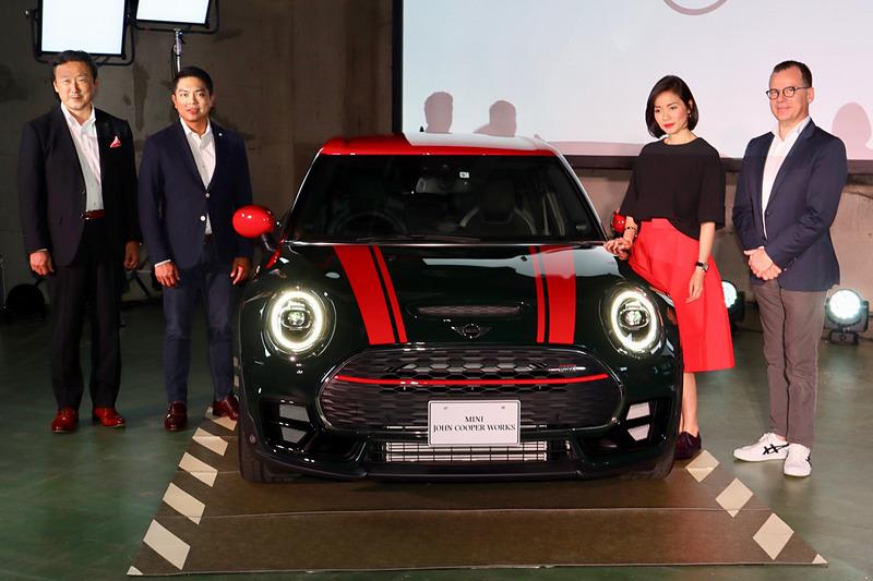 MINIのワゴンモデル「MINI クラブマン」発表会