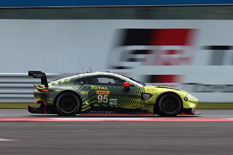 LMGTE Proクラス優勝のアストンマーティン・レーシングの95号車アストンマーティン ヴァンテージ AMR(マルコ・ソーレンセン/ニッキ・ティーム組)
