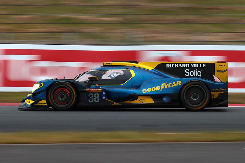 LMP2クラス2位はグッドイヤータイヤを装着するジョタの38号車オレカ 07・ギブソン(ロベルト ゴンザレス/A・フェリックス・ダ・コスタ/アンソニー・デビッドソン)