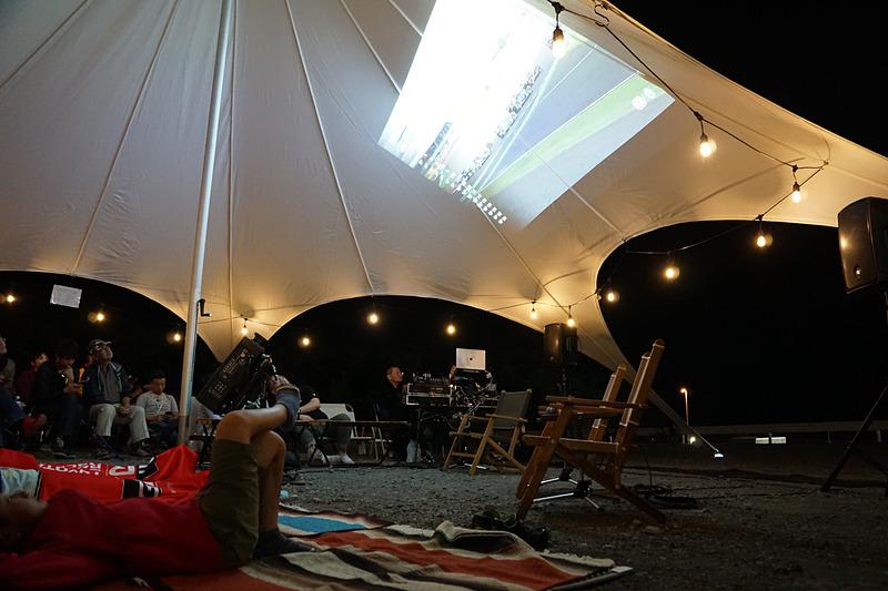 キャンプエリアで使用する電気をMIRAIから供給する