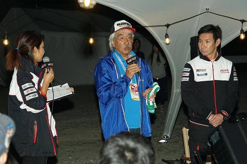 トヨタ自動車 先進技術統括部 三谷和久氏も登場。MIRAIから取り出せる電気の可能性の話や、千葉県で発生した大規模停電の発生地域にMIRAIの電気を届ける活動を行なってきたことが報告された