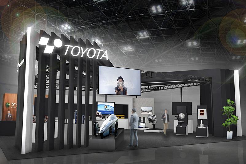東京ビッグサイト 南 4ホールに用意される豊田自動織機ブースのイメージ