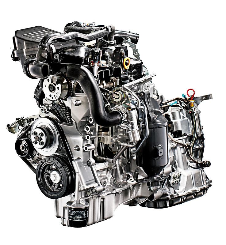 直列3気筒DOHC 0.66リッターターボ「KF」型エンジン