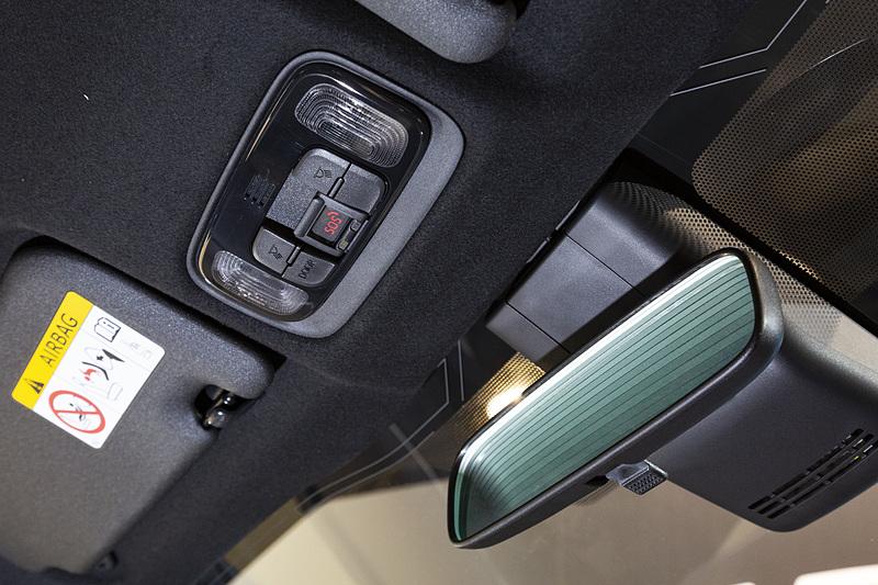 マップランプ部にヘルプネット用のボタンを設定